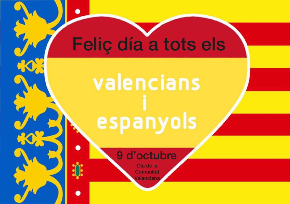El 9 de octubre se celebra el Día de la Comunidad Valenciana