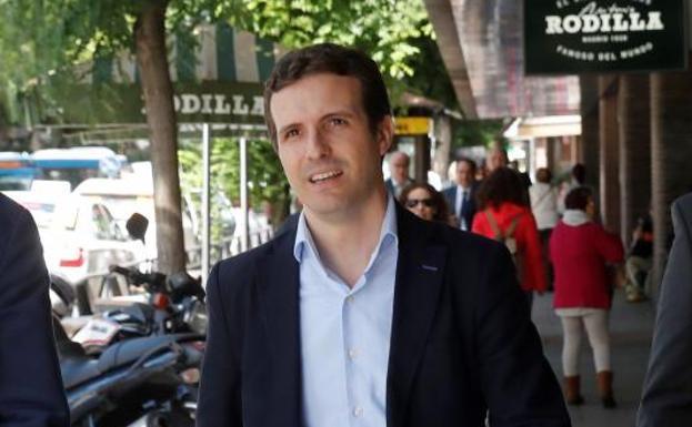 Pablo Casado anuncia su candidatura para presidir el PP