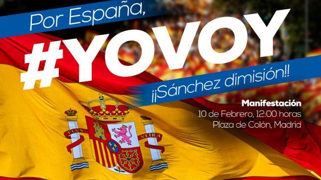Por España, yo voy ¡¡Sánchez dimisión!!